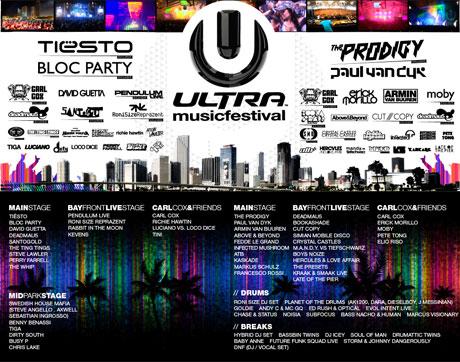 ultra music festival 2009
