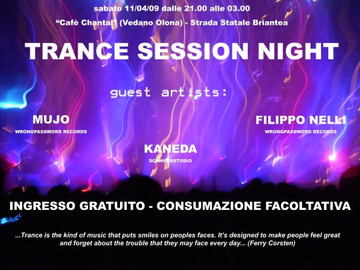 Trance Session Night